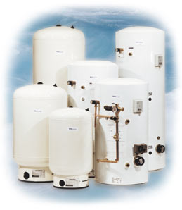 dualstream unvented hot water storage cylinders