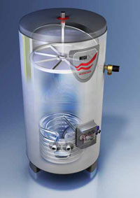 megaflo unvented hot water cylinder transparency